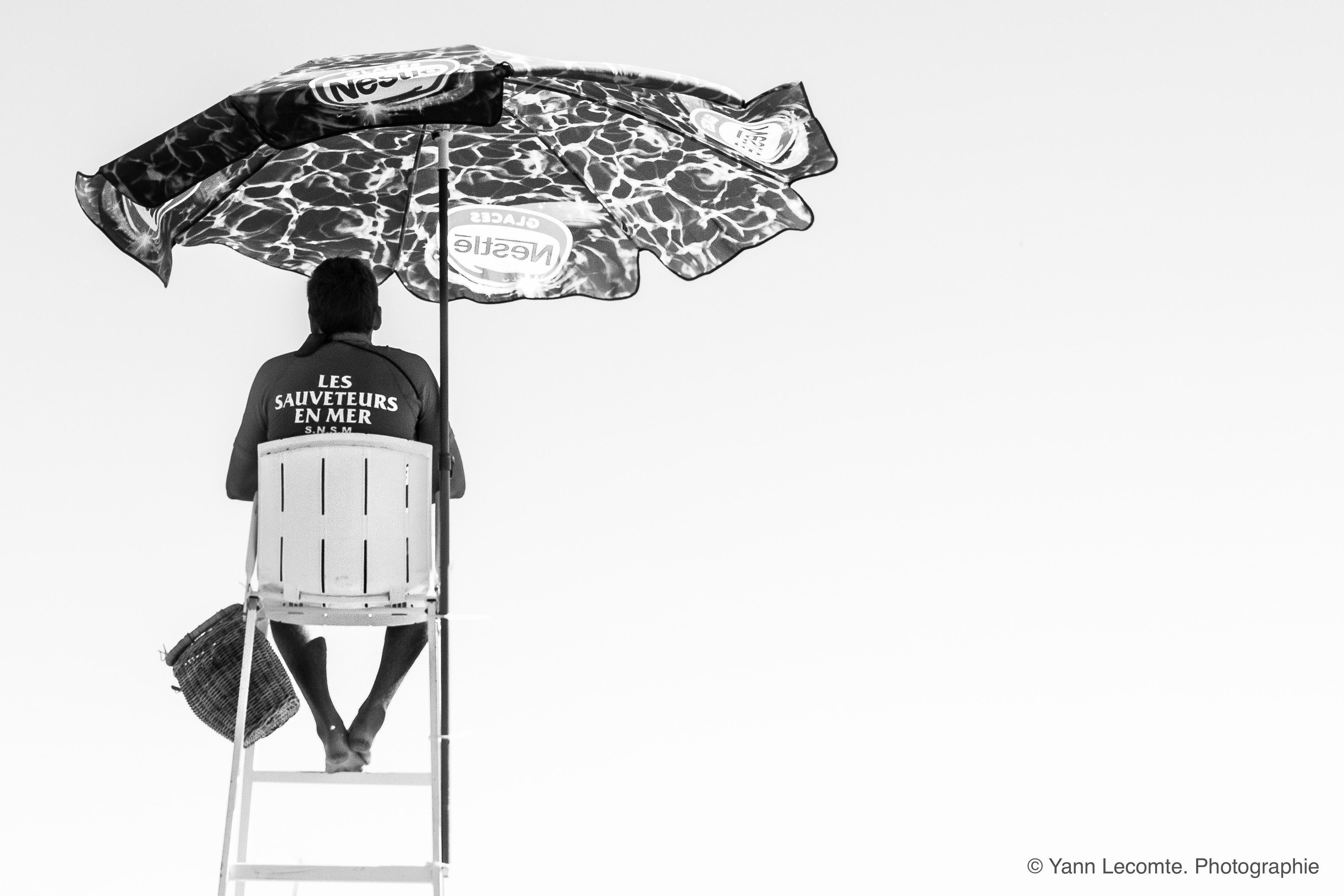 Rescuer - Photographie Yann Lecomte- Sablographie