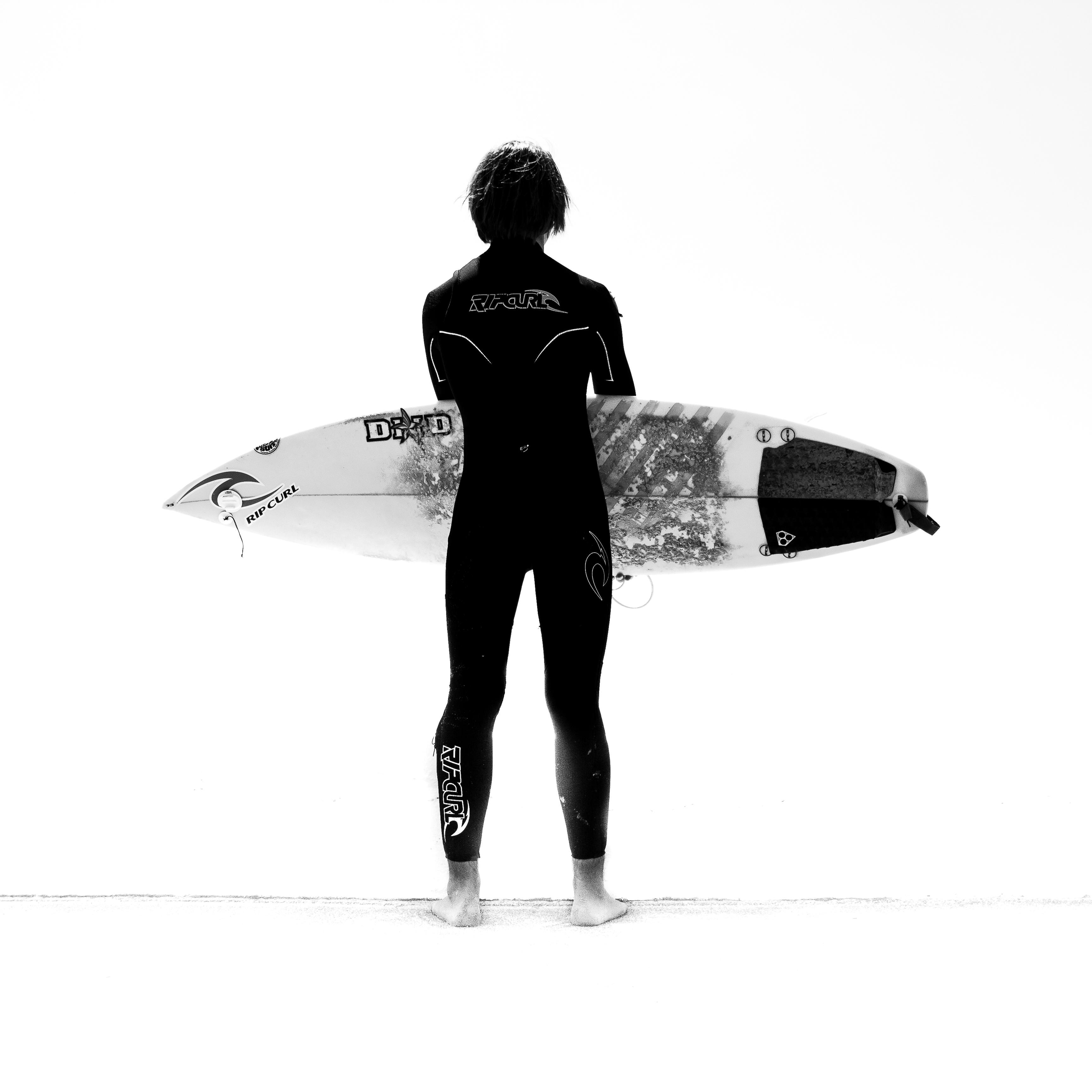 Surfer - Photographie Yann Lecomte- Sablographie