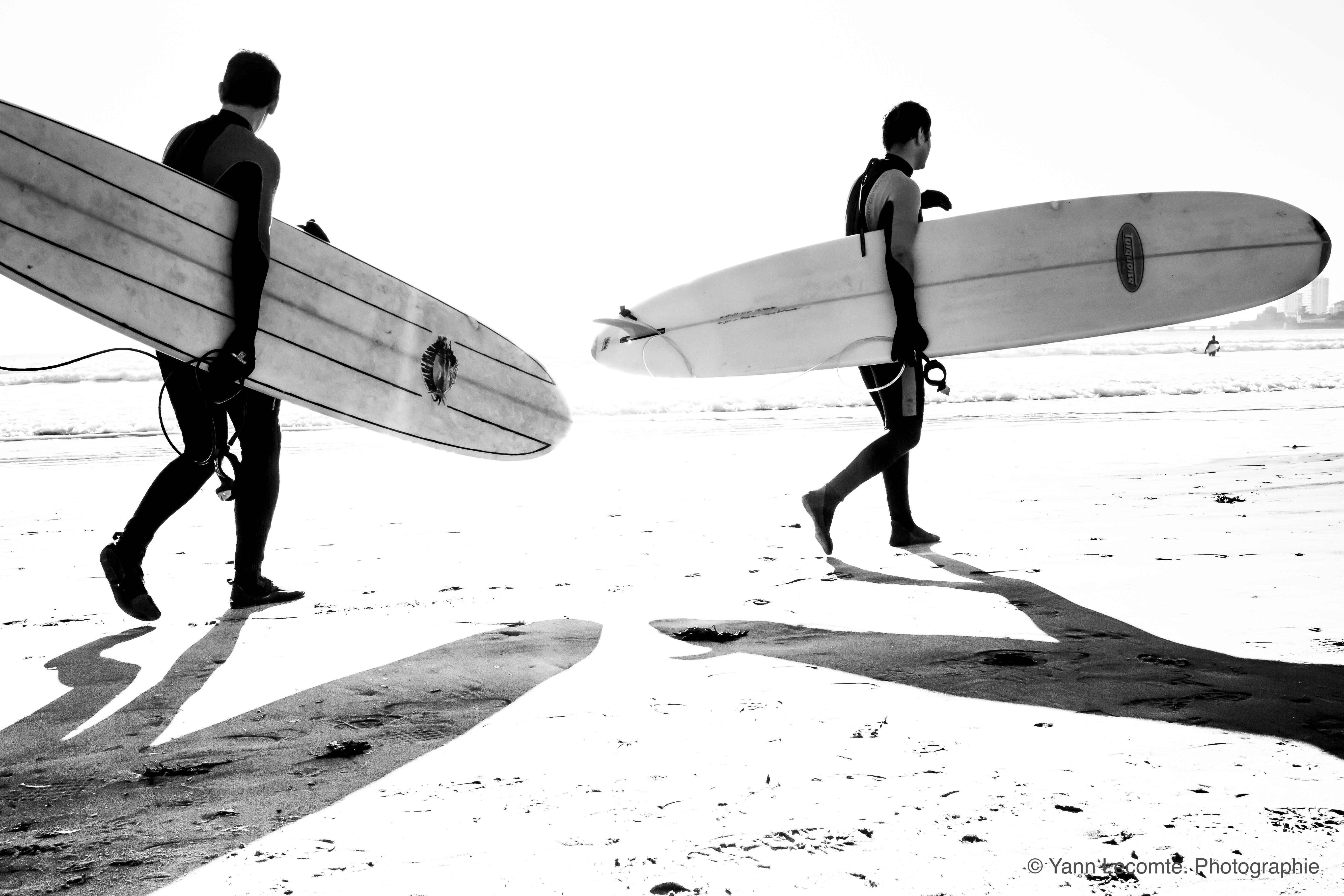 Longboard - Photographie Yann Lecomte- Sablographie