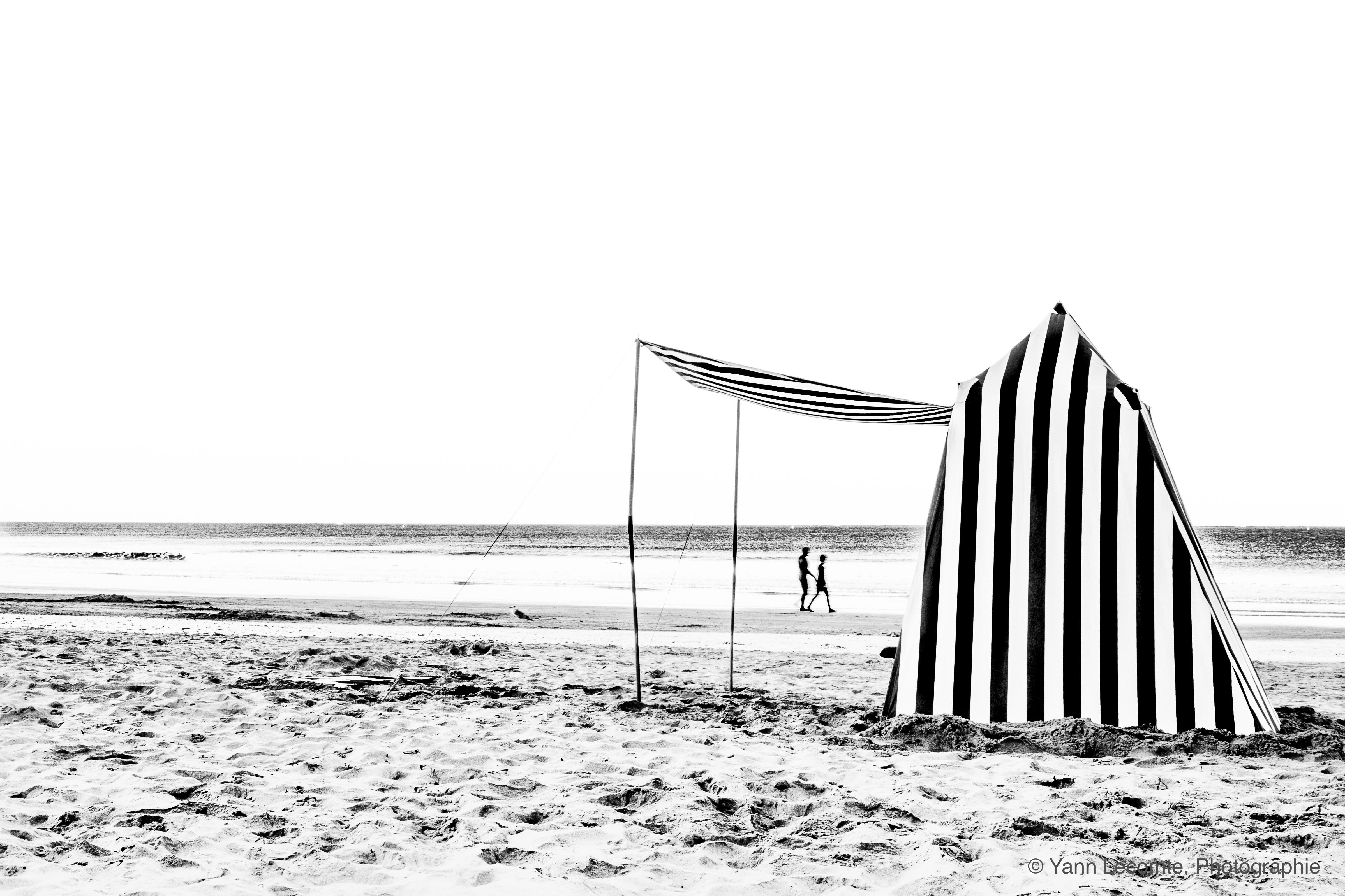 La tente estivale - Photographie Yann Lecomte- Sablographie