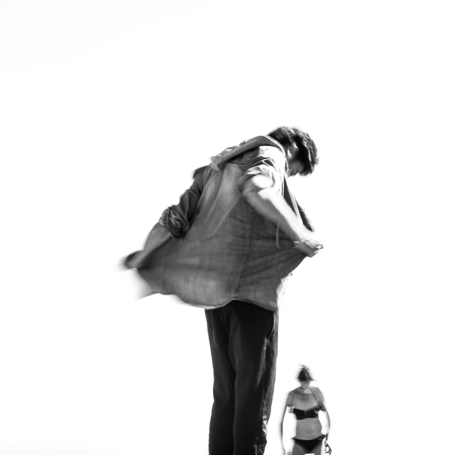 Distorsion - Photographie Yann Lecomte- Sablographie - Série WHITE