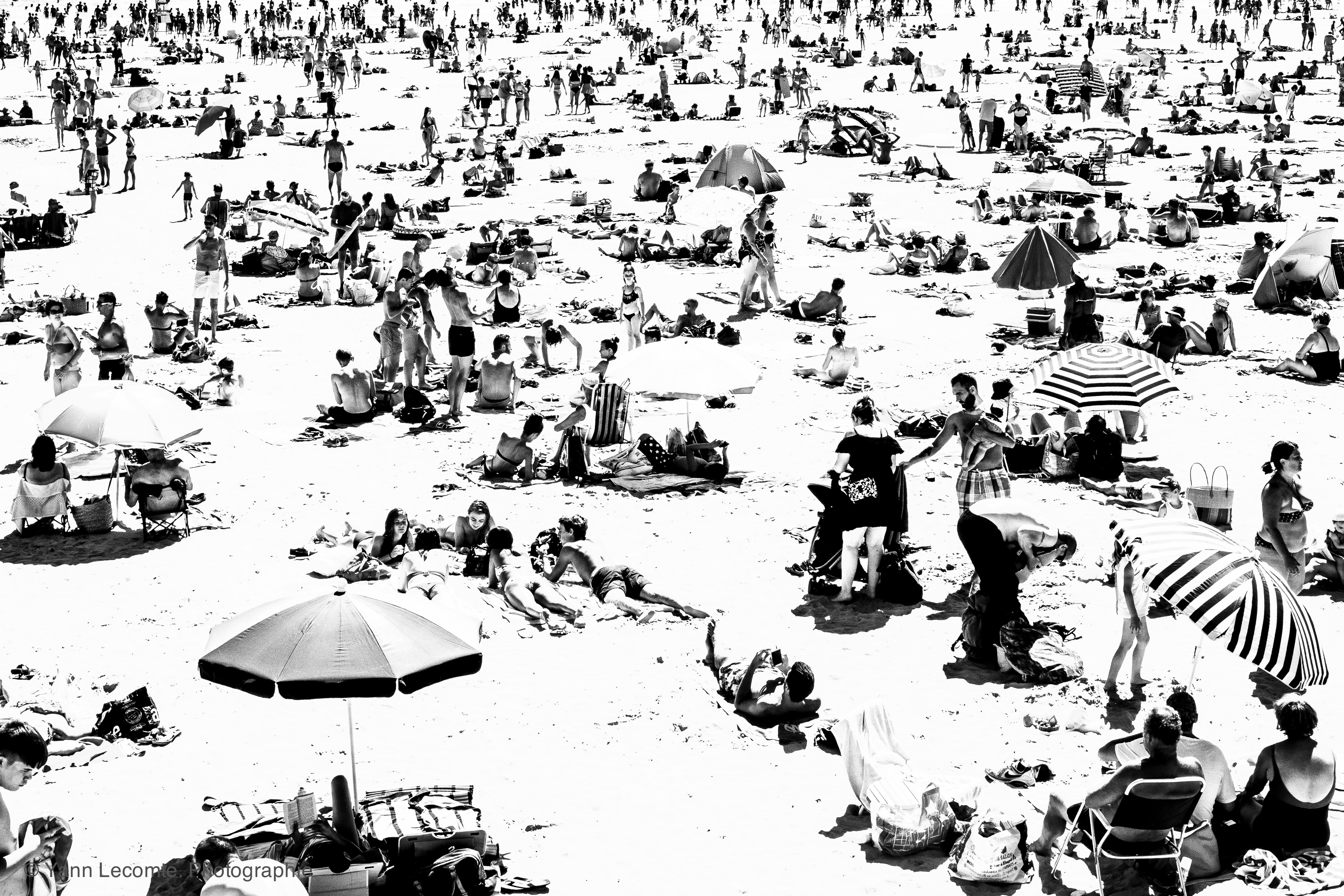 To infinity - Photographie Yann Lecomte- Sablographie