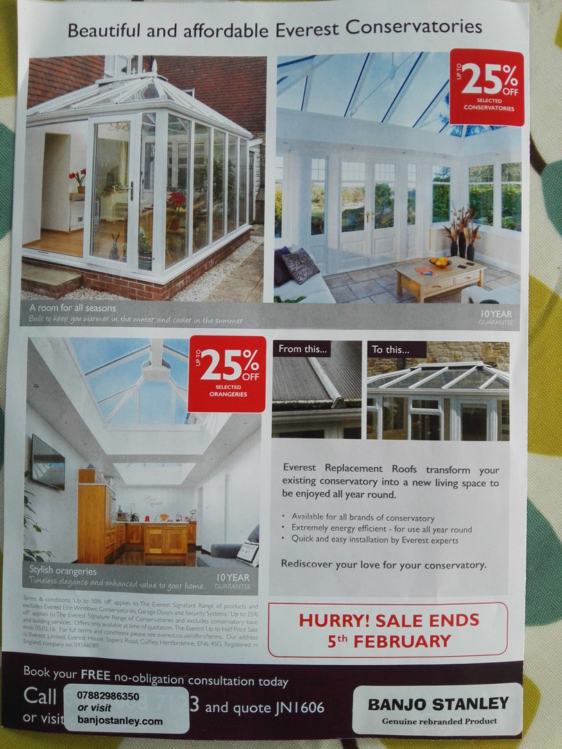 Double glazed windows by BSE