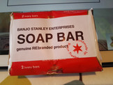 NEW product. SOAP!