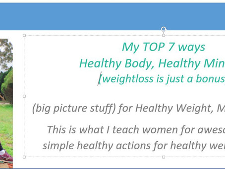 Healthy Body, Healthy Mindset and Awesomeness #101 (my new online PDF & Audio workshops, I love