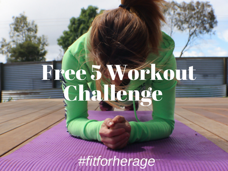 Join our Free 5 Workout Challenge
