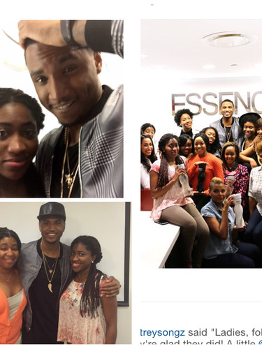 Trey Songz Came to ESSENCE to Talk About What ESSENCE Fest Meant to Him! (2015)