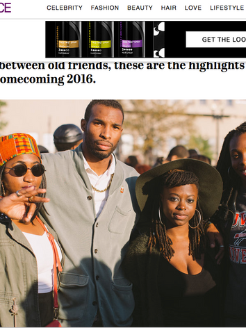 Hanging Out With Friends & Family at Howard Homecoming in This ESSENCE Gallery Feature!