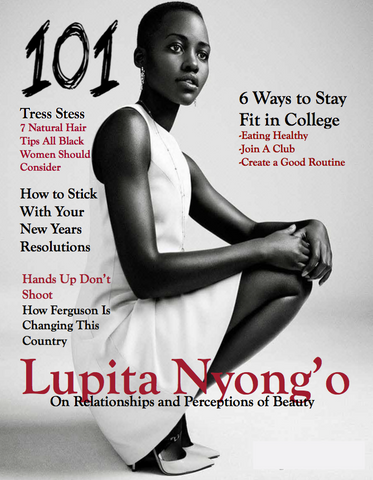 101 Magazine Cover Page