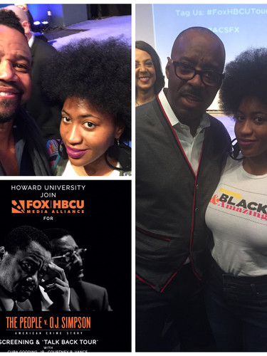 """Courtney B. Vance and Cuba Gooding Jr. Came to Howard to Talk About """"The People v. O.J. Simpson! (2016)"""