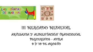 III Mercado Medieval - Peguerinos