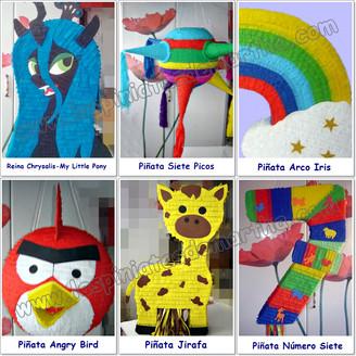 Mosaico Piñatas