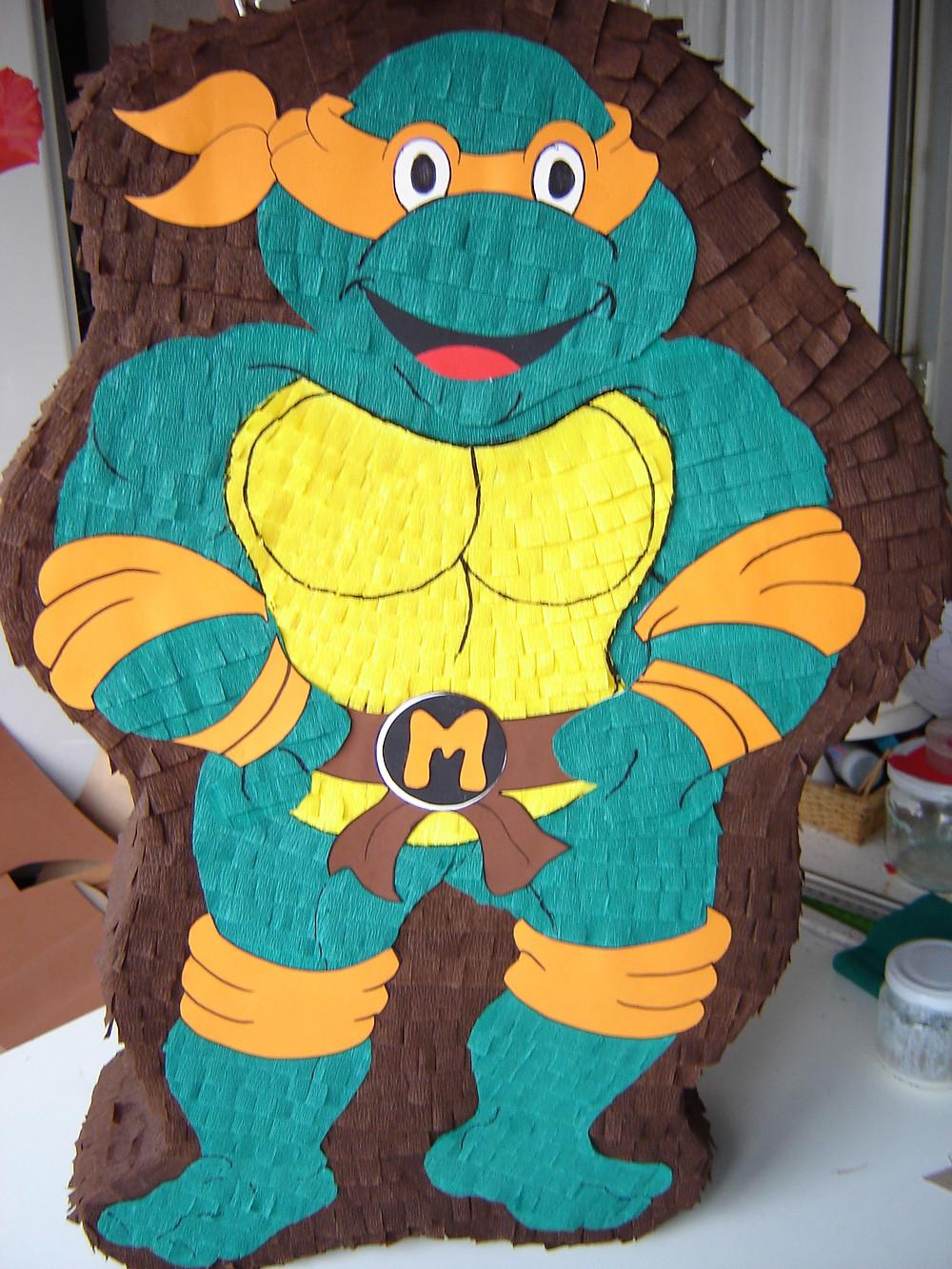 Piñata Michelangelo