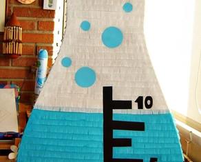 Piñata Tubo de Ensayo