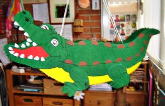Piñata Cocodrilo