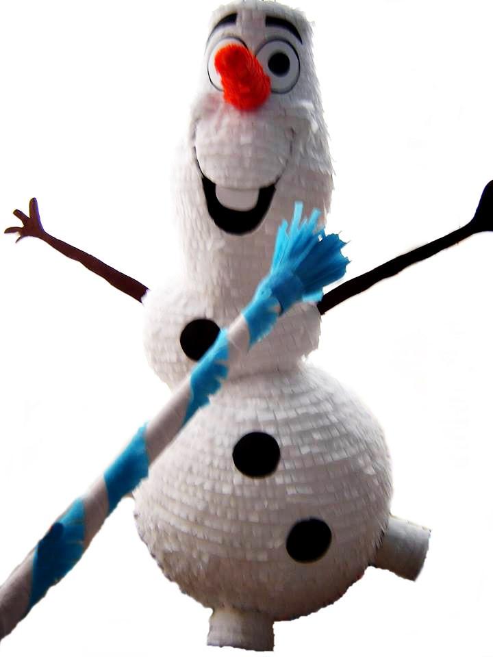 Piñata de Olaf