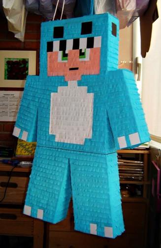 Piñata Minecraft