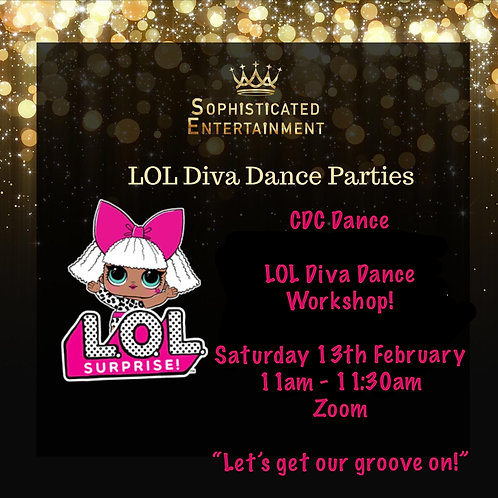 LOL DIVA Dance Party for CDC Dance