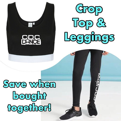 CDC Dance Crop Top & Leggings - Discounted when Bought Together!