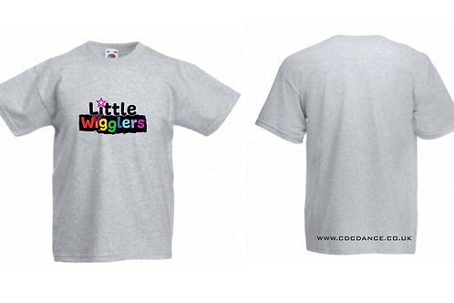 Little Wigglers t shirts - available in 6 colours