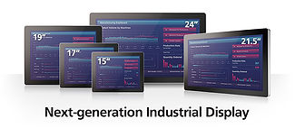 IP65 Industrial Displays