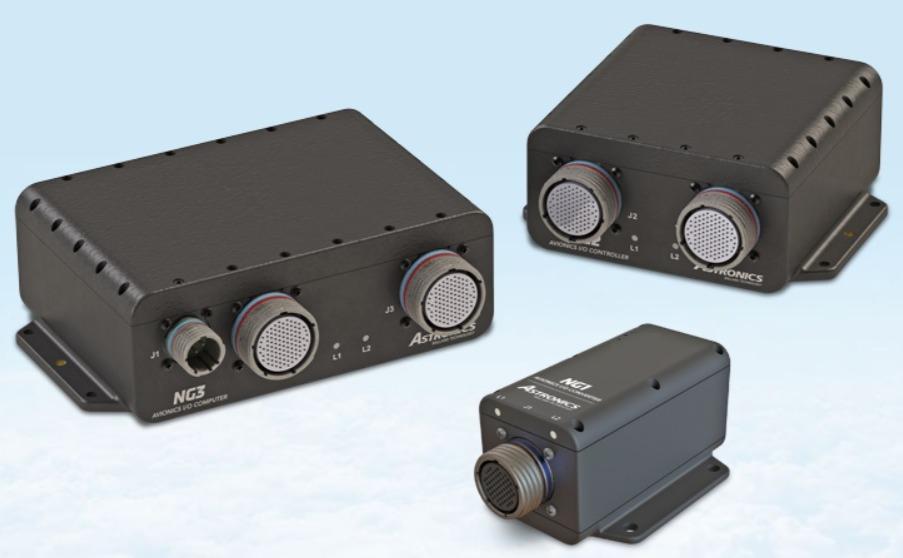 Avionics I/O computing platforms