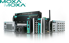 We distribute Moxa products