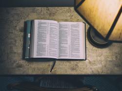 Bible on desk2