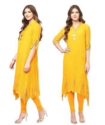 Divine Marigold Tunic