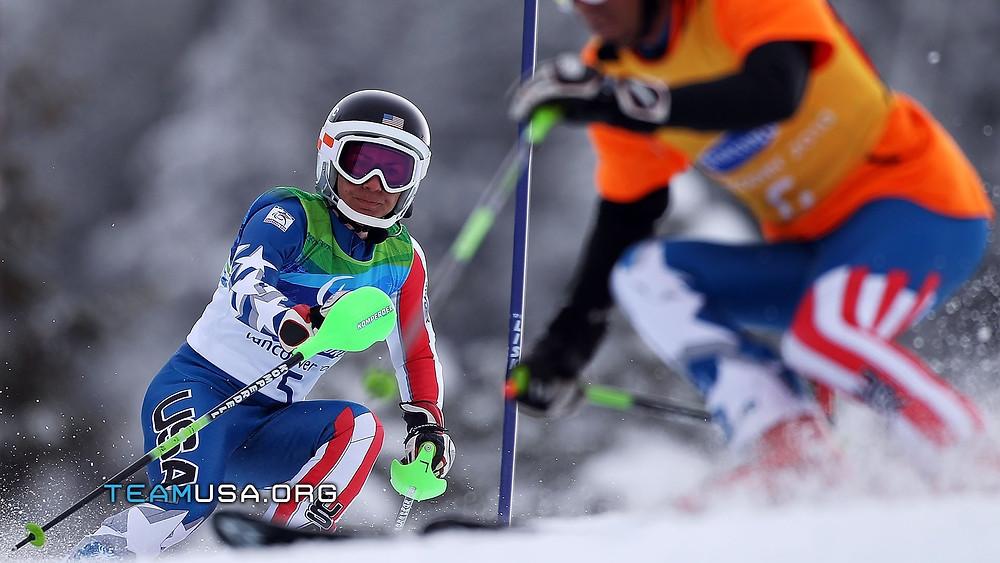Danelle Umstead ski racing.