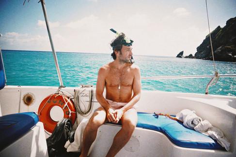 passeio de barco, fernando de noronha