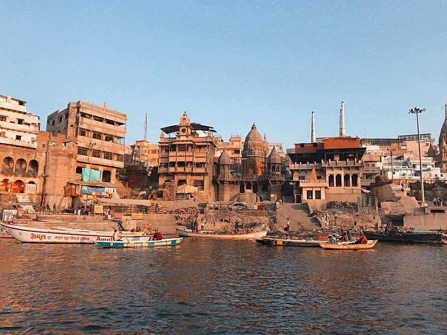 Crematório Rio Ganges Índia