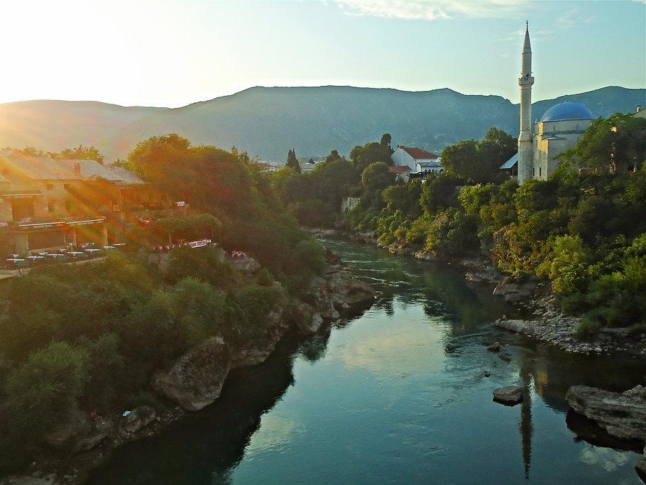 rio Mostar Bósnia