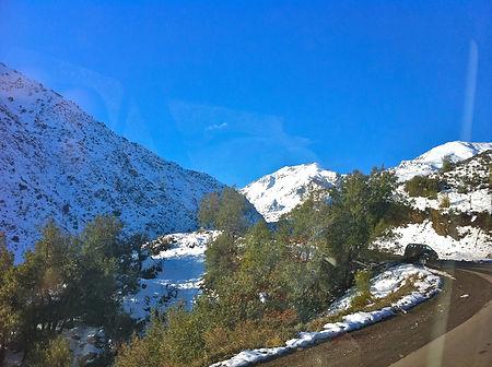 como chegar valle nevado