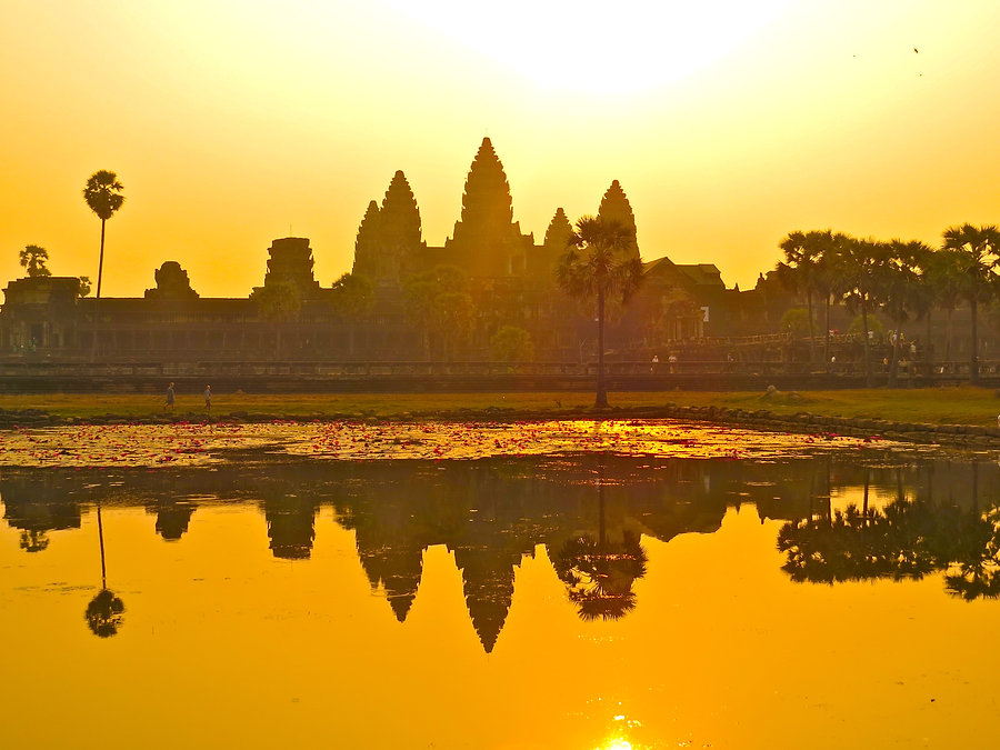 Templos de Angkor Camboja
