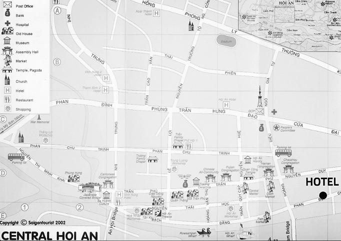 MAPA Hoi An Vietnã