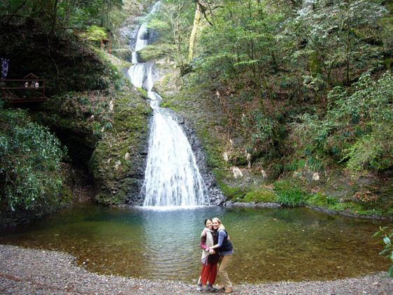 Maho & Lucy at waterfall.jpg