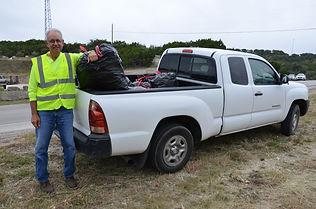 Frank Robbins - Trash Pick-up 10-17-2020