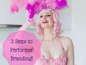 3 Simple Steps to create a Clear Performer Brand (with practical tips!)