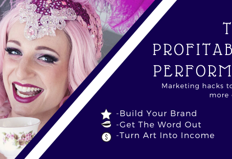 Are you a performer? Join me and learn marketing hacks to get more gigs!