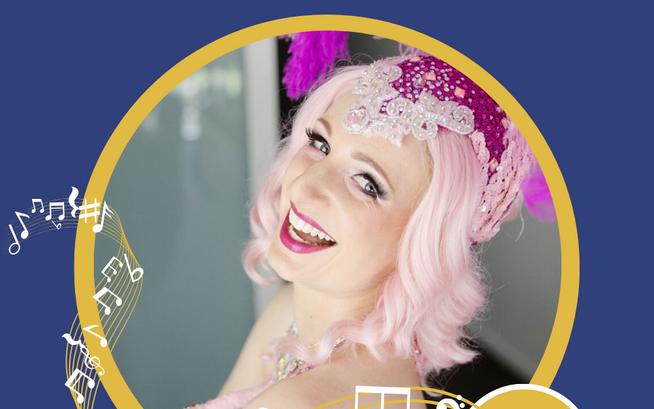 Burlesque Bandstand performer CAMILLATil