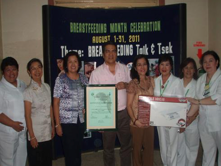 Fabella Hospital Celebrates 12th Year Anniversary of Kangaroo Mother Care