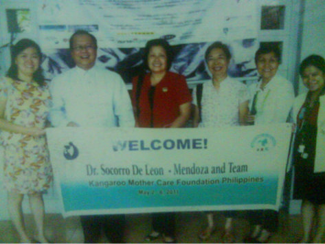 Southern Philippines Medical Center Staff Trained on KMC