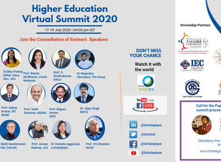 International Higher education Virtual Summit 2020 (17-19th July 2020)