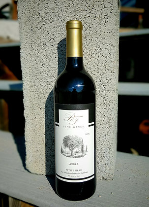 "6 Bottle ""Arbre"" 2015 Petite Sirah FALL ""Special"""