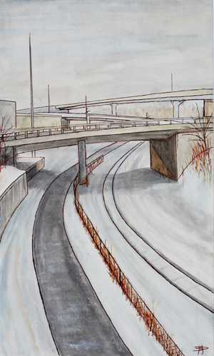 Overpass *Sold