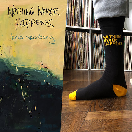"""""""Nothing Never Happens"""" Autographed CD + NNH socks!"""
