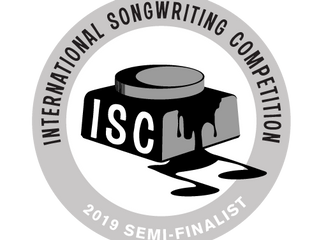 2019 International Songwriting Competition Semi-Finalist!