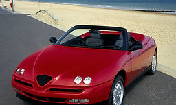 red sports car auto insurance