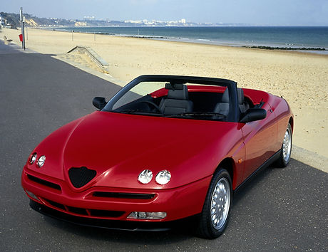 Red Convertible